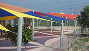 Sail shade World shade sail in Episkopi, Cyprus