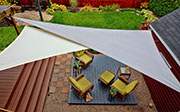 Sail shade World shade sail in Canada