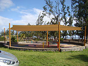 Sail shade World shade sail in La Reunion