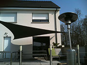 Sail shade World shade sail in France