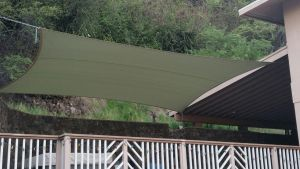 Sail shade World shade sail in Hawaii, United States