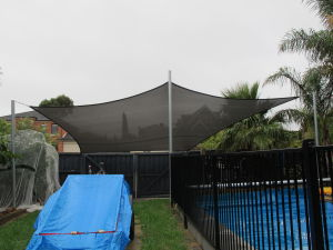 Sail shade World shade sail in Victoria, Australia