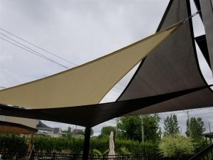 Sail shade World shade sail in Quebec, Canada
