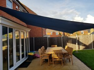 Sail shade World shade sail in Buckinghamshire, United Kingdom