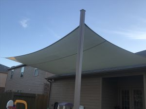 Sail shade World shade sail in TX, United States