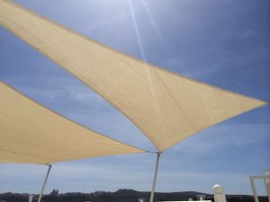 Sail shade World shade sail in QRM, Malta